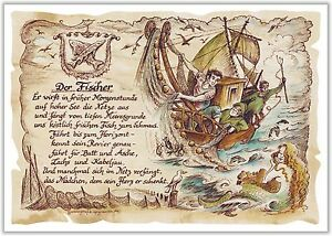 Details Zu Geschenk Fischer Fischerei Angler Gedicht