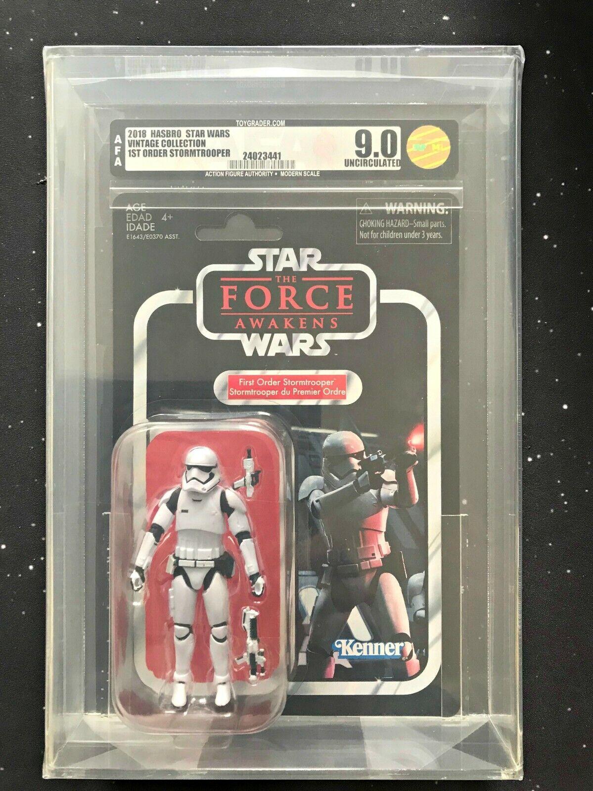2018 Star Wars Vintage Collection VC118 primera orden Stormtrooper Figura De Acción autoridad U9.0