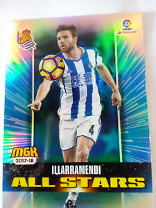 Chrome-Football-Mgk-All-Stars-Illarramendi-Real-Sociedad-N-457-Liga-2017-2018