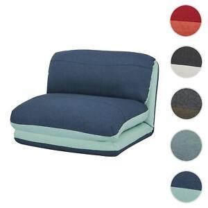 Pouf Poltrona Letto.Poltrona Letto Pouf Relax Hwc E68 Trasformabile Tessuto Ebay