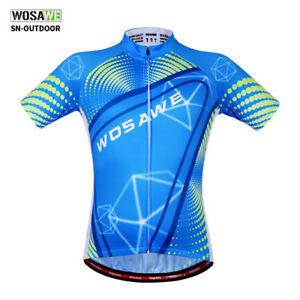 Herren Radfahren Radtrikots Kurzarm ärmellose Fahrrad Tops Sommer Cycling Jersey