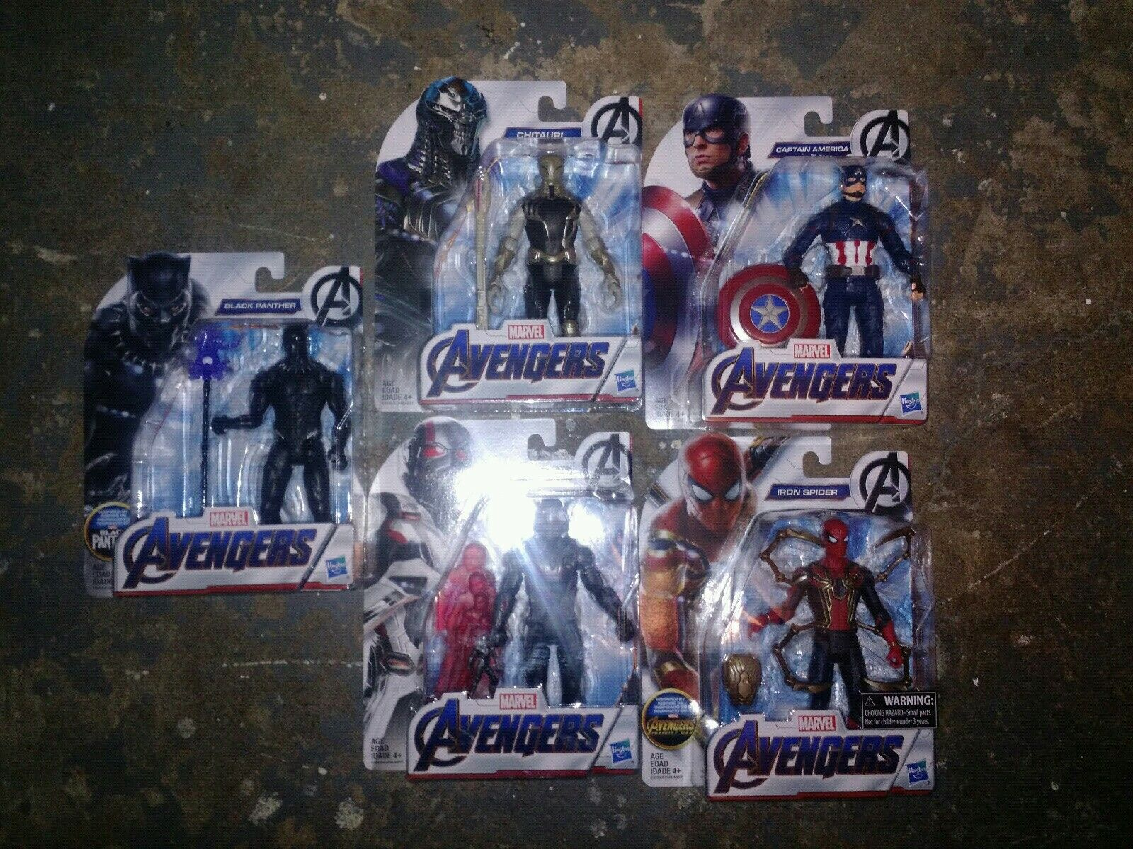 2019 New Marvel Avengers Action Figures Entire Set