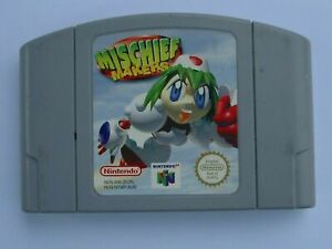 Nintendo 64 N64 Mischief Makers 64 AUS Pal Original-Envío Gratis