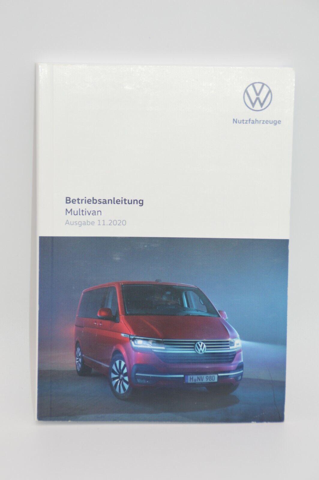 Original VW T6.1 Multivan Bedienungsanleitung Betriebsanleitung Handbuch Bordbuch 07/2021 7LC012705AM