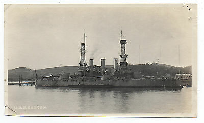 1917 Photo USS Georgia near Mare Island CA