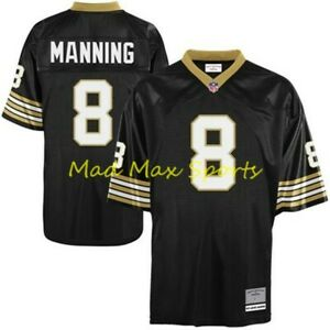 Details about ARCHIE MANNING New Orleans Saints MITCHELL & NESS Throwback LEGACY Jersey S-XXL