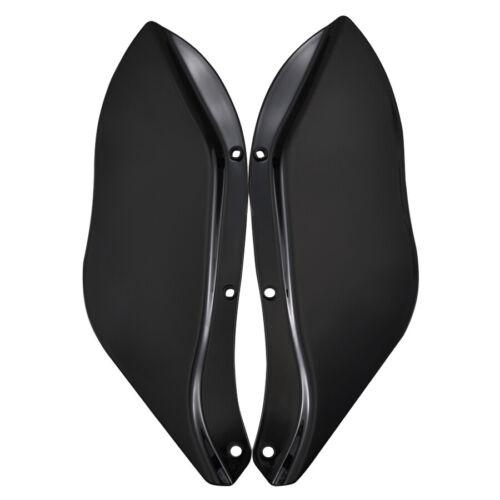 Fairing Windshield Side Wing Air Deflectors for Harley Touring FLHT FLHTC FLHX