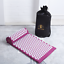 Indexbild 15 - Acupuncture Mat and Acupressure Pillow Set with Carrier Bag + Wooden Muscle Tone