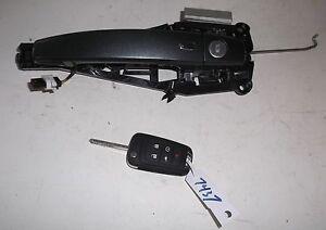 2013 12 13 14 chevy volt exterior door handle key front for 12 volt door latch