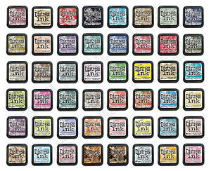 Tim Holtz * DISTRESS INK * Stamp Pads Choose from 48 Colors