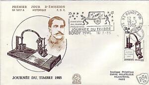 2362-FDC-FLAMME-1er-JOUR-JOURNEE-DU-TIMBRE