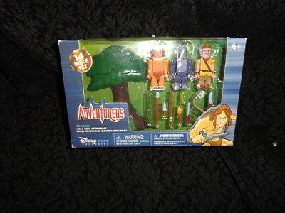 NEW Disney Adventures Tarzan Mega Minifig Mini Figure Action Set Disney  Store | eBay
