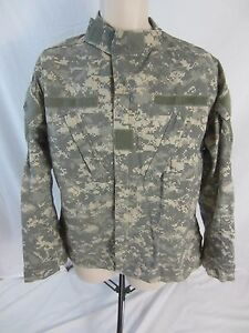 USA-Army-Combat-Camouflage-Camo-Field-Coat-Jacket-Men-039-s-Medium-Regular-1221