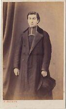 Ecclésiastique Photo E. Boivin cdv Vintage albumine ca 1860