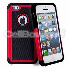 078e67aac143 Hard Shockproof Case Cover for Apple iPhone 4s 5s 5c 6 7 8 FREE Screen  Protector