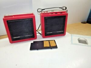 VTG Realistic 8-Track Stereo Player AM/FM-Stereo Radio 12-1885 RED W/ MANUAL