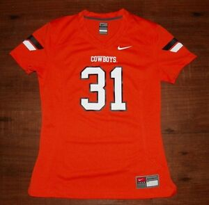 d129a1d94 Oklahoma State Cowboys Nike Women's Game Team Replica Football ...