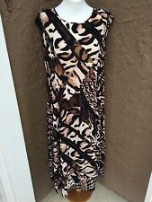 24e63dd06e item 6 New Soldout  159 Chico s Adrian Animal Print Maxi Dress 3 XL 16 18  NWT Black Tan -New Soldout  159 Chico s Adrian Animal Print Maxi Dress 3 XL  16 18 ...