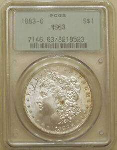 1883-O-Morgan-Silver-dollar-PCGS-MS-63-uncirculated-great-luster-OGH