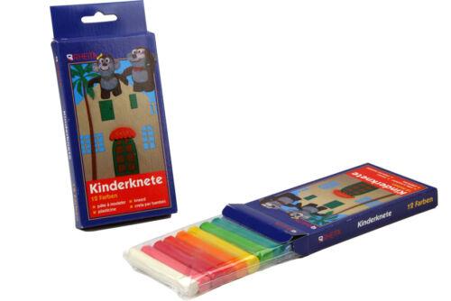 5x 12 12 verschiedene Farben Knetmasse 60 Stangen Knete
