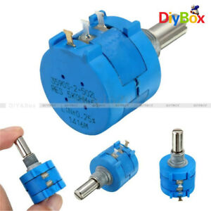 1 Precision 3590S Wirewound Potentiometer 500R1K2K5K10K20K50K100K Ohm Pot 10Turn