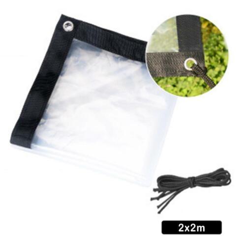 Transparent Multi-purpose Waterproof Poly Tarp Cover Film Windshield Tarpaulin