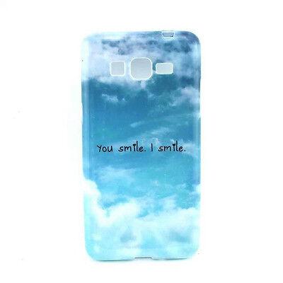 You Smile I Smile TPU Case Cover for Samsung Galaxy Grand Prime SM-G530 Pop