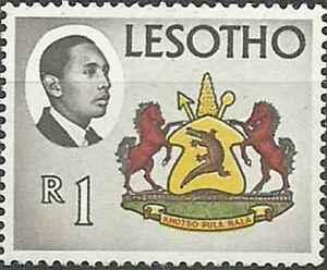 Timbre-Blasons-Lesotho-141-30234