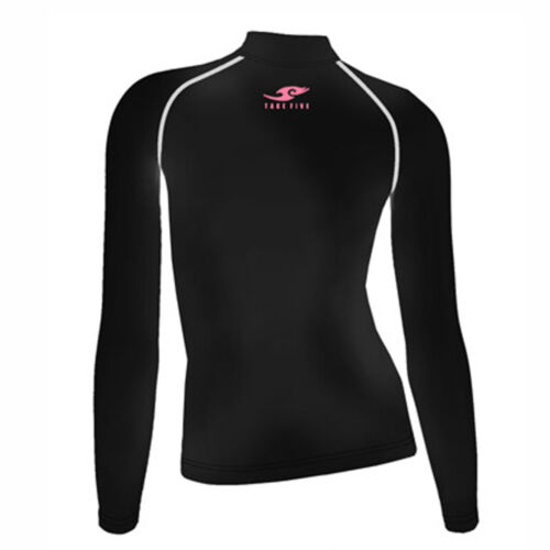 Take Five Womens Skin Tight Compression Base Layer Running Shirt S~XL Black 097