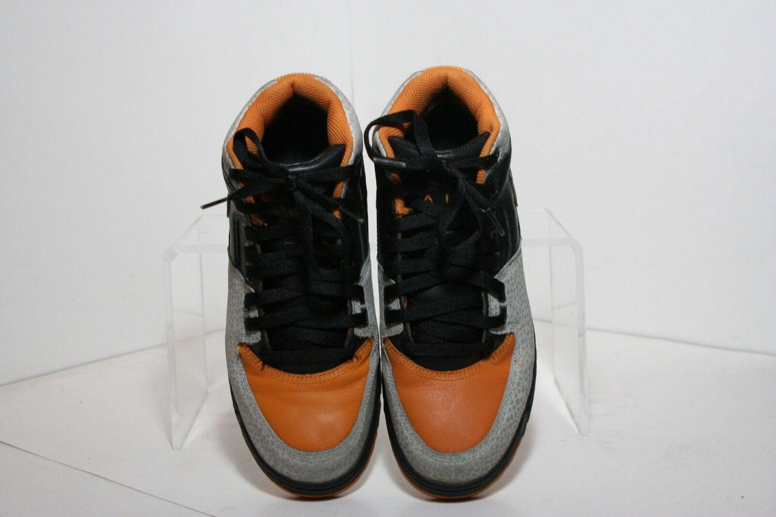 2ed260bd45e8 ... Nike Air Max Worknesh Worknesh Worknesh VTG 2009 High Men 8 Multi  Orange Cement Black Athletic