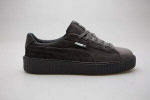 new style 710aa f628b Details about $149.99 Puma x Fenty By Rihanna Men Creeper Velvet gray  glacier 364639-03