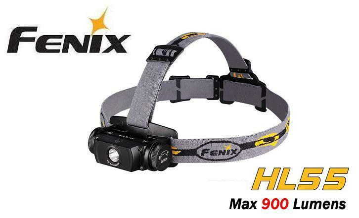 NUOVO Fenix HL55 CREE XM-L2 U2 LED 900 LUUomo Torcia LED Faro Proiettore