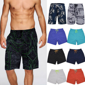 Mens Swimming Board Shorts Boys Swim Shorts Trunks Swimwear Summer Beach  Pants | eBay