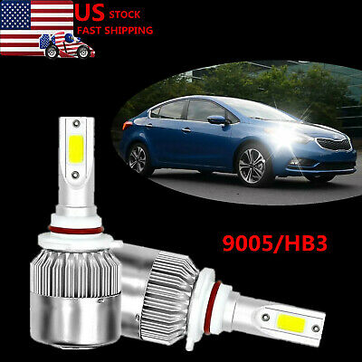 Led Headlight Cree Bulb High Beam Kit 9005 6000k White For 2017