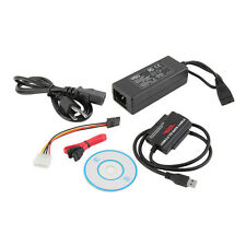 USB 3.0 to IDE SATA S-ATA 2.5 3.5 HD HDD Hard Drive Adapter Converter Cable FE