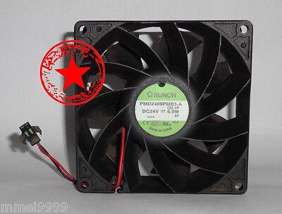 .1P  DC 24V 6.0W 0.25A 92*92*38mm 2 1 pcs SUNON  Fan PMD2409PMB3-A