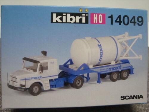 Kibri   14049 Scania Sattelzug mit Cementsilo H0 1:87 Neu OVP