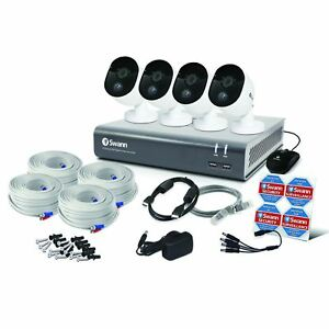 Swann DVR 4580 4 8 16 Channel HD DVR Heat Motion Sensing PIR Cameras CCTV Kit