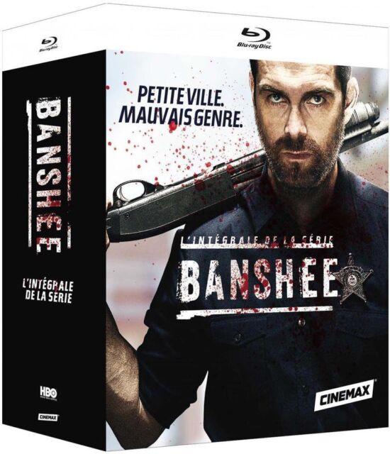 BANSHEE Complete HBO Series 1-4 15 Disc BLU RAY Box Set REGION A,B,C Season NEW