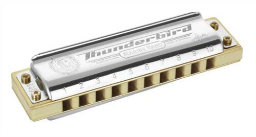 Hohner Marine Band Thunderbird Harmonica Low Octave Key of Eb