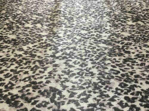 NEW High Class Designer Multicoloured Silky Soft Satin Leopard Print Fabric 1