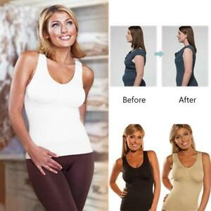 2a6d30da137fa Cami Shaper Body Shape Wear Genie Bra Tummy Trimmer Tank Seamless ...