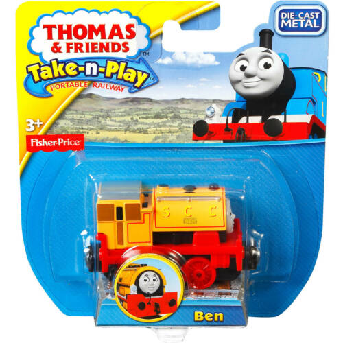 NEW Ben Die Cast Thomas The Tank /& Friends Fisher Price Take-N-Play Diecast