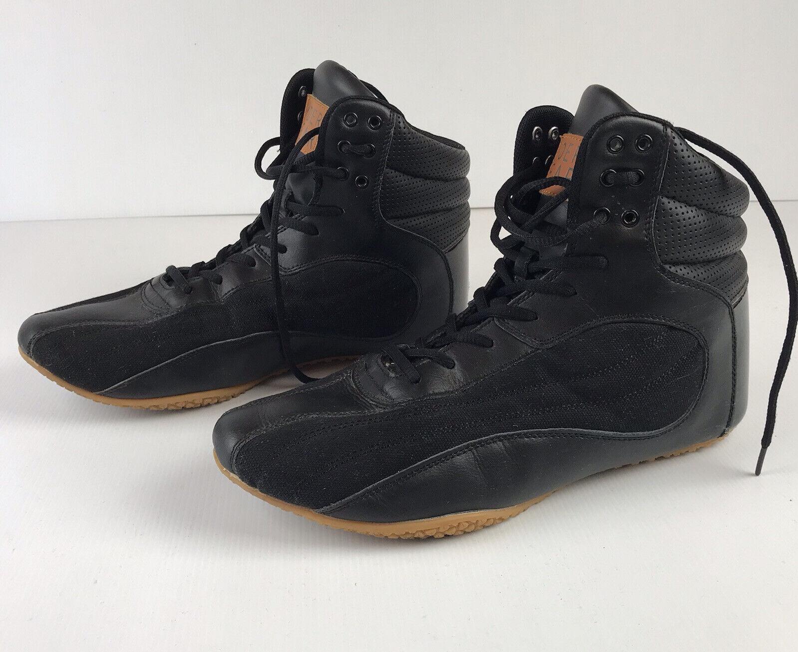 Ryder Wear Black Boots Size US 11