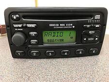 Ford 6000 Cd Rds Eon Car Radio Stereo Cd Player Fiesta Focus Transit Mondeo Etc