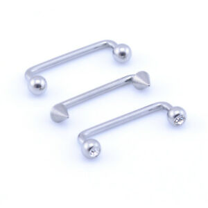 Staple-Surface-Piercing-Barbell-Bar-1-2mm-16g-1-6mm-14g-Surgical-Steel
