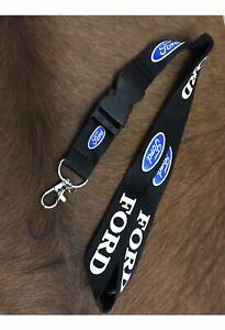 Ford Performance Lanyard Key Ring Chain