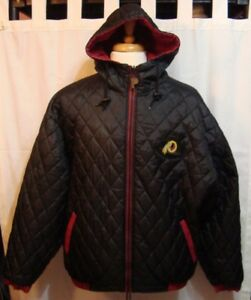 finest selection 0ef2f 65f34 Details about Washington Redskins NFL Experience Reversible Jacket by  Pro-Player - Size M