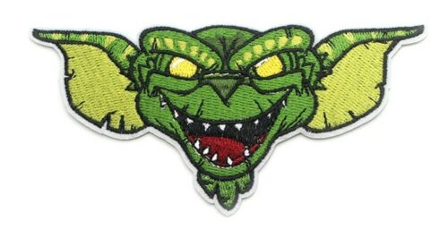 """Gremlins Evil Gizmo 5/"""" Wide Embroidered Iron On Patch"""