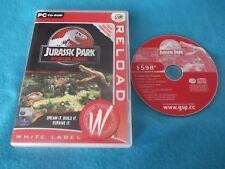 JURASSIC PARK OPERATION GENESIS PC CD-ROM V.G.C. FAST POST ( red disc version )
